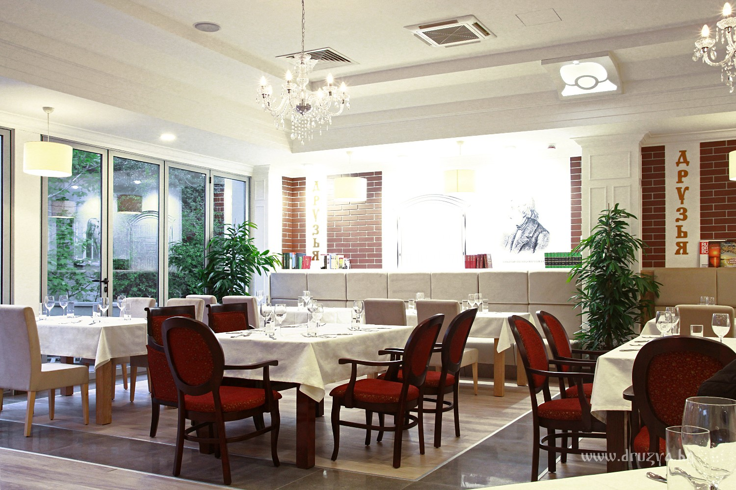 Restaurant Kitchen Air Conditioning tangra built the ventilation and air conditioning systems of the