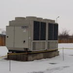 водоохлаждащ агрегат с термопомпа