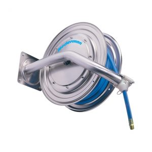 Nederman Hose reel 886 in stainless steel