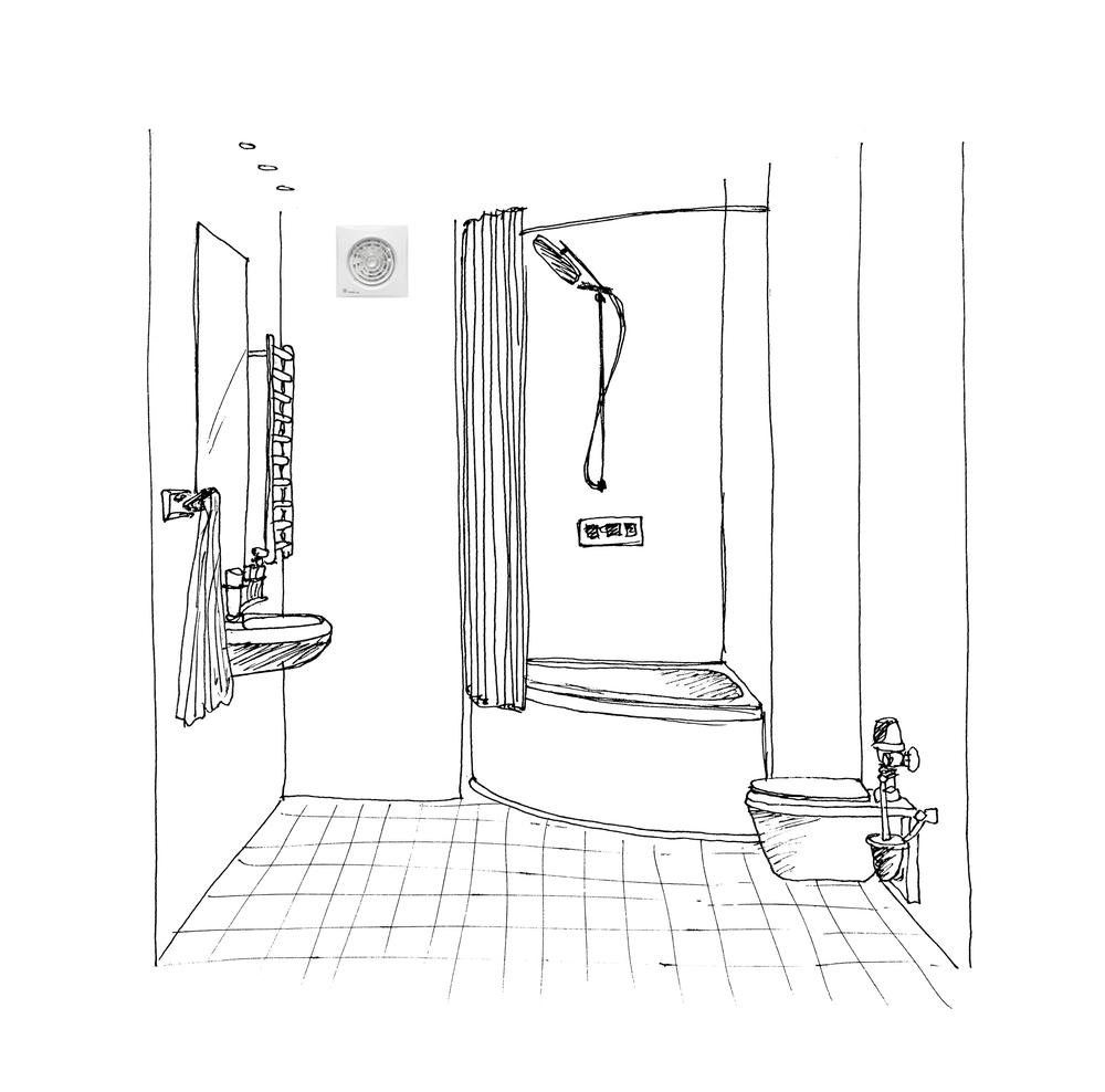Bathroom ventilators