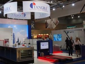 Щанд на Тангра на Международния технически панаир Mostra Convegno Expocomfort